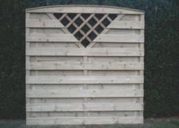 BETONZAUN KOWALEWSKI - Beton-Holz-Kombi Element mit Dreieck