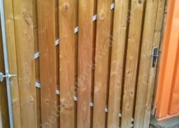 BETONZAUN KOWALEWSKI - Holztoranlage 150cmx180cm, einflügelig