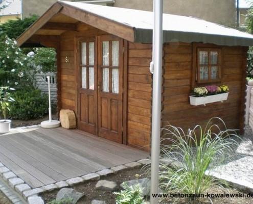 BETONZAUN KOWALEWSKI - Gartenhaus