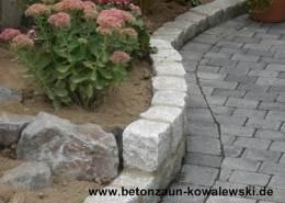 BETONZAUN KOWALEWSKI - Pflasterarbeiten in Beton u. Naturstein - Gartenbau