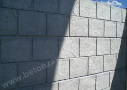 BETONZAUN KOWALEWSKI - Betonzaun Casa Korsika, einseitig unbehandelt