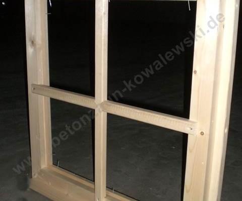 BETONZAUN KOWALEWSKI - Gartenhaus Bausatz A/B Fensterrahmen