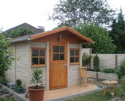 BETONZAUN KOWALEWSKI - Gartenhaus Bausatz A