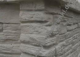 BETONZAUN KOWALEWSKI - Dekorpfosten mit Pfostenkappe und Oberlatte