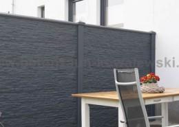 betonzaun standard premium betonzaeune kowalewski. Black Bedroom Furniture Sets. Home Design Ideas
