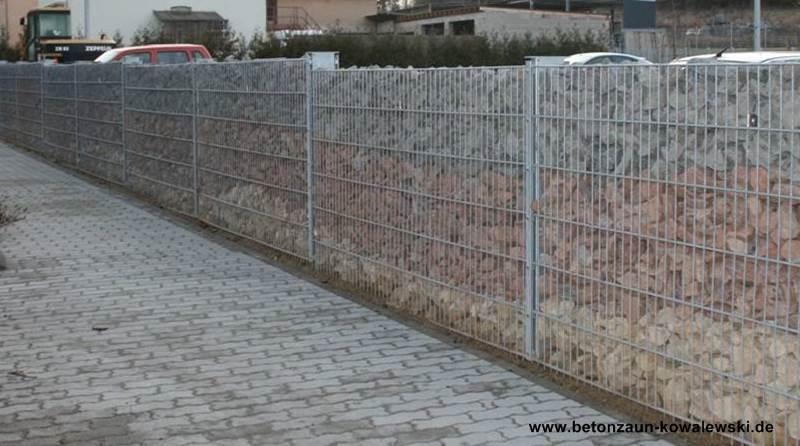Betonzaun Hornbach betonzaun gitterzaun und sichtschutz betonzaeune e kowalewski