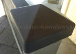 BETONZAUN KOWALEWSKI - Betonzaun Stanbdard Premium Pfostenkappe