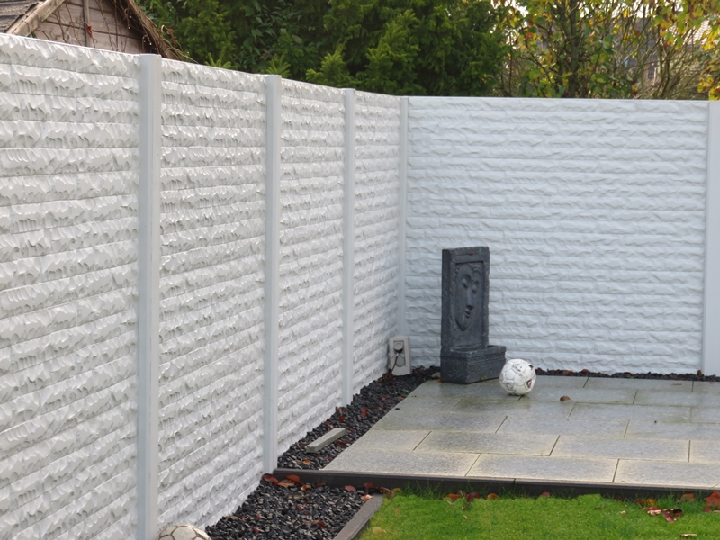 betonzaun standard premium betonzaun gitterzaun und sichtschutz. Black Bedroom Furniture Sets. Home Design Ideas