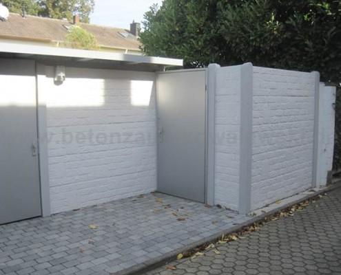 BETONZAUN KOWALEWSKI - frei gestaltetes Gartenhaus Motiv Standard Romania