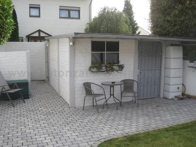 gartenhaus betonzaeune kowalewski. Black Bedroom Furniture Sets. Home Design Ideas