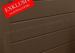 BETONZAUN KOWALEWSKI - BETONZAUN KOWALEWSKI - NEU: Betonzaun Standard TORONTO Glatt