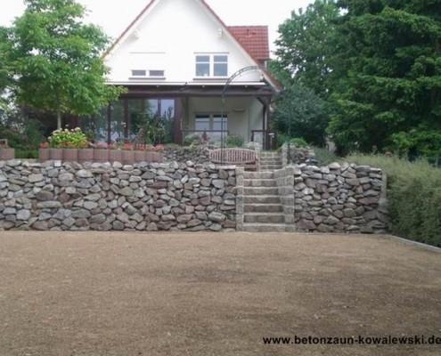 BETONZAUN KOWALEWSKI - Trockenmauer
