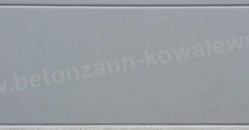 BETONZAUN KOWALEWSKI - Betonzaun Glatte Platte Premium