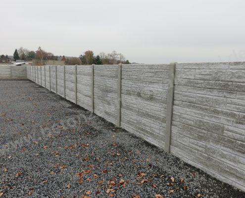 BETONZAUN KOWALEWSKI - Betonzaun Standard Blockstone S, unbehandelt