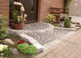 BETONZAUN KOWALEWSKI - Treppenanlage, Pflasterarbeiten in Granit u. Naturstein