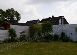 BETONZAUN KOWALEWSKI - Betonzaun Standard Fels in Schiefer 16