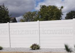 BETONZAUN KOWALEWSKI - Betonzaun Standard Toronto glatt