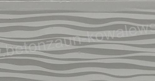 BETONZAUN KOWALEWSKI - Betonzaun Standard 3 D Düne